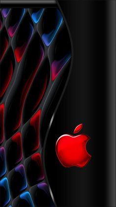 #SmartphoneLogo Iphone Wallpaper Music, Apple Logo Wallpaper Iphone, Iphone Logo, Phone Wallpaper Design, Iphone Homescreen Wallpaper, Abstract Iphone Wallpaper, Iphone Background Wallpaper, Cellphone Wallpaper, Apple Background