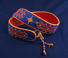 Sami belt, Nesseby, Finnmark, Norway Kurta Patterns, Folk Clothing, Lappland, Photography Words, Native Style, Indigenous Art, Fashion Belts, Color Shapes, Dark Ages