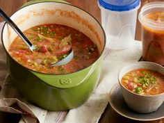 Big-Batch Andouille Gumbo recipe from Food Network Kitchen via Food Network