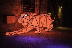 Set within a district of Victorian industrial buildings, theToronto Light Festivalis a free 45-day festival occurring during this year's winter months as a way to creatively draw the city's inhabitants out of their homes. Featuring 21 diverse light installations built by local and international ar