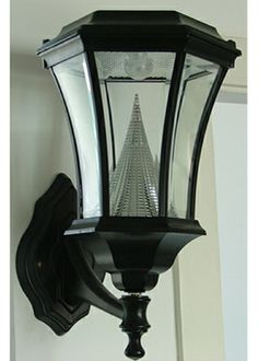 Victorian Solar Lamp Wall Mount: Save $30 with free shipping through June 30. Manufacturer's Sale. And: we still are offering 10% off all solar lamps not covered by Manufacturers' Sale. http://www.solarflairlighting.com/images/products/GS-94-WALL.jpg
