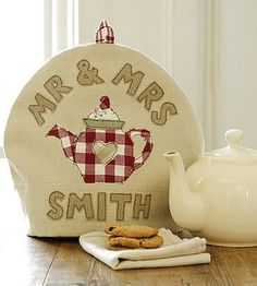 Personalised tea cosy