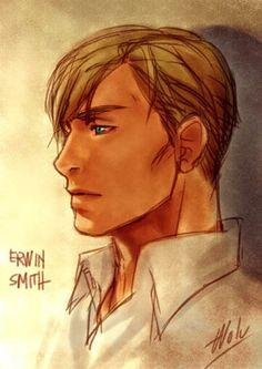 Doodlez study Erwin Smith by Wolvtrune on DeviantArt