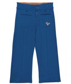 Blauw retro broekje kids - Dis une couleur