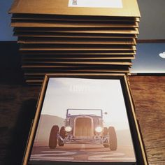 Australia New Zealand USA Germany UK... shipping out another batch of LOWTECH - The Second Issue. Get yours via http://ift.tt/1OKyQDv (link in my profile) #lowtech2 #lowtech #lwtch #printisnotdead #supportsmallbusiness #independentpublishing #revolverimaging #hotrods #kustom #hamb #flathead by lowtech.marc