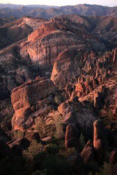 Balconies Cliffs, Pinnacles National Park, California