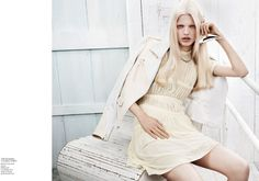 daphne groeneveld4 Daphne Groeneveld by Josh Olins for Vogue China February 2012