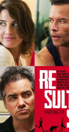Results (2015). Two mismatched personal trainers' lives are upended by the actions of a new, wealthy client.