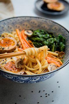 Veggie Recipes, Asian Recipes, Healthy Recipes, Ethnic Recipes, Diner Party, Bento, Light Recipes, No Cook Meals, Food Porn