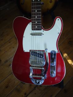 Fender Telecaster - Metal Red - Bigsby