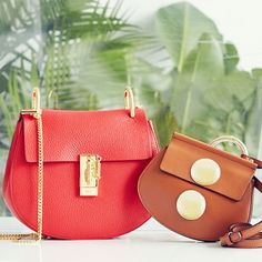 Make a big statement with a gorgeous leather mini bag.