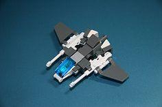 X-68E ''Hybrid'' Jet Fighter (Multihawk) Tags: scale plane fighter lego military jet mini micro future coalition hybrid nano microscale brickarms autocannon microspacetopia wafare