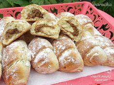 Nekysnuté orechové rožteky zo šľahačkového cesta (fotorecept) - recept | Varecha.sk