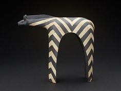 Stoneware Clay Zebra - b - Sold African Design, African Art, Kids Clay, Ceramics Projects, American Decor, Art Installations, Glass Ceramic, African Animals, Safari Animals
