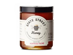 State Street Honey on Packaging of the World - Creative Package Design Gallery