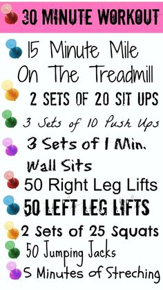 30 MINUTE WORKOUT « Jenn-Fit Blog – Healthy Exercise | Healthy Food | Healthy Living
