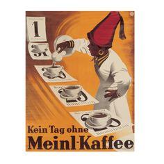 Julius Meinl retro coffee poster