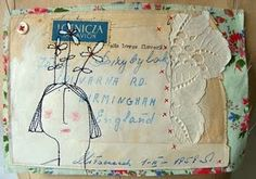 mail art by Viv of Hen's Teeth