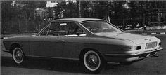 Chevrolet Corvair Coupe II (Pininfarina), 1963