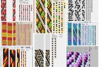 150 схем вязания жгутов на 11-12 бисерин