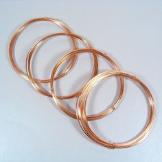 16/18/20/22 Gauge - 10 Feet Each - Copper Wire