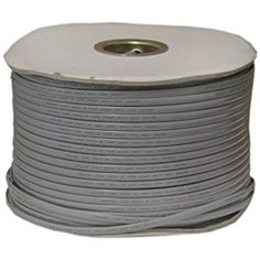 1000 ft QualConnectTM Bulk Cat5e Gray Ethernet Cable Unshielded Twisted Pair UTP Pullbox Stranded