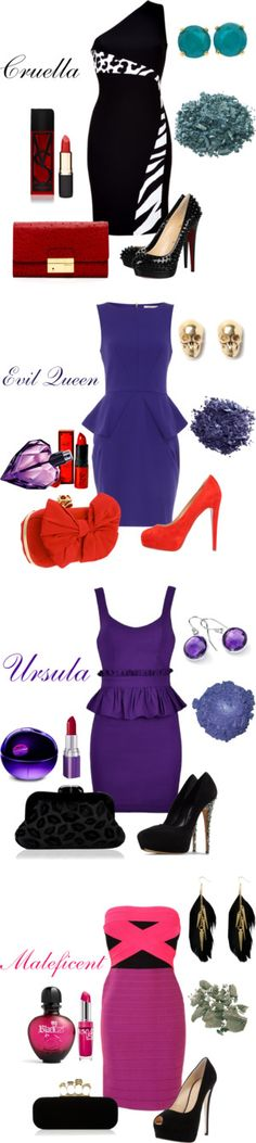 """Disney Villains"" by natihasi on Polyvore"