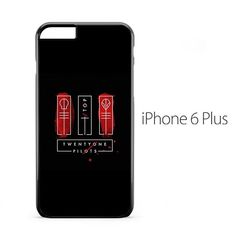 Twenty One Pilots Top Cover iPhone 6 Plus Case
