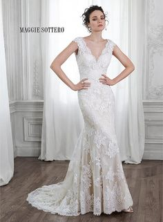 This is it!! Maggie Bridal by Maggie Sottero Shayla-5MS015