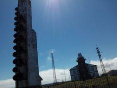 Faro Cabo de Peñas (Asturias) importante para avisar de la flota ballenera by Jesus
