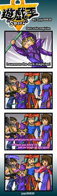 This is awesome! XD  Yu-Gi-Oh!  YGO Spoof: DCM by jojo56830 on DeviantArt
