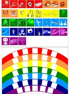 Crafts-Too Embossing Folder Scrap Alphabet Upercase Preschool Colors, Preschool Centers, Preschool Learning Activities, Color Activities, Educational Activities, Preschool Activities, Teaching Kids, Kids Learning, Diy Montessori