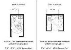 Small Half Bathroom Ada Floor Plans   Google Search