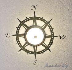 compass :) Batchelors Way: Pirate Room Reveal!!