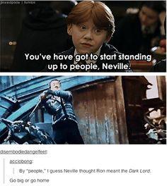 Neville is just a boss.