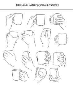drawing Illustration art reference how to draw drawing hands character design reference anatomy for artists art pose reference Drawing Skills, Drawing Lessons, Drawing Techniques, Drawing Tips, Figure Drawing, Drawing Sketches, Art Drawings, Drawing Hands, Drawing Poses
