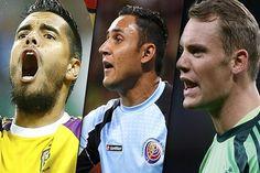 Romero, Navas y Neuer fueron nominados para el Guante de Oro