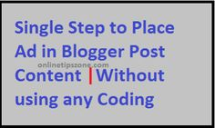 Place #ads inside the #Content of #website #article ==>check article for simple steps #without using any #code