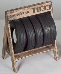 Tire stand for store