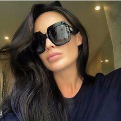 Gia Oversized Square Sunglasses