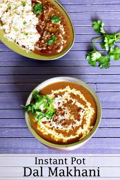 The popular Indian restaurant style dish, dal makhani recipe made in instant pot with easy method. It has cream and butter which makes it heavenly delicious and loaded with flavors. this black lentils curry tastes good with rice. Tips to make it healthy and vegan are included in recipe notes. #instantpot #dalmakhani #restaurantstyle #indianfood #blacklentils #recipe