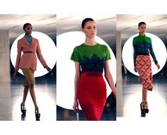 70 Cool Color-Blocked Looks - From Whimsical Mod Fashion to Neontastic Color-Blocked Spreads (CLUSTER)