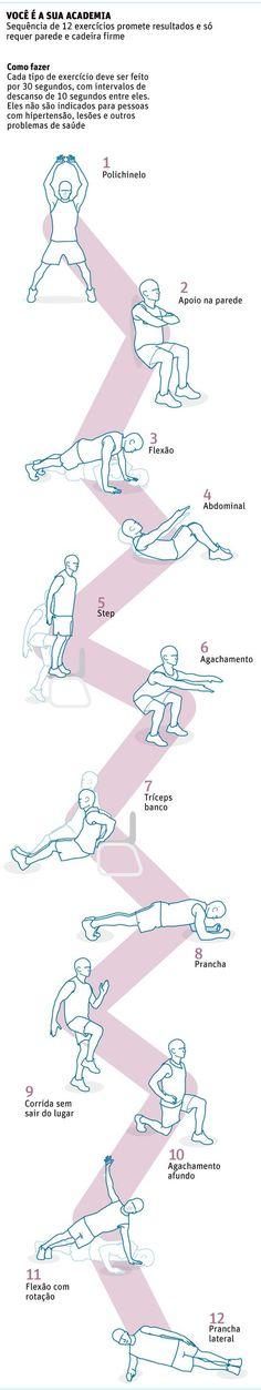 Série de exercícios intensos seduz com ideia de boa forma em sete minutos - 09/07/2013 - Equilíbrio e Saúde - Folha de S.Paulo