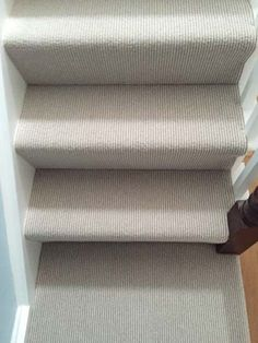 Latest Absolutely Free Grey Carpet stairs Style Deciding on the best carpet colour can be quite a daunting process. Unlike fashion trends for interi Grey Stair Carpet, Carpet Staircase, Basement Carpet, Brown Carpet, White Carpet, Patterned Carpet, Striped Carpet Stairs, Hallway Carpet, Home Depot