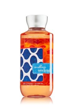 ENDLESS WEEKEND - Shower Gel - Signature Collection - Bath & Body Works - Wash your way to softer, cleaner skin with a rich, bubbly lather bursting with fragrance. Moisturizing Aloe and Vitamin E combine with skin-loving Shea Butter in our most irresistible, beautifully fragranced formula!