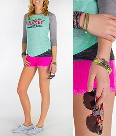 'Color Crazed' I want these shorts. #fashion www.buckle.com