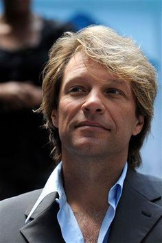 Jon #bonjovi Looking so good with a kind heart to match.  One of God's best works.
