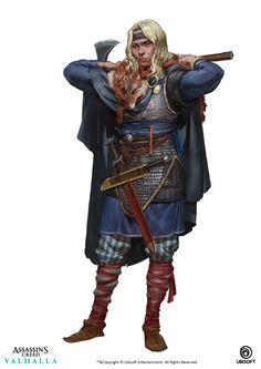 ArtStation - Art Blast | Assassin's Creed: Valhalla, Even Amundsen