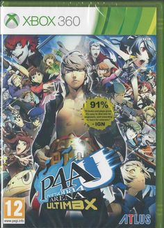 Xbox 360 Persona 4 Arena: Ultimax BRAND NEW via esteetshops video games. Click on the image to see more!
