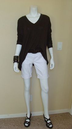 Daily Look: CAbi Fall 12 Slouch Tee and HRH Signature Belt with spring's Lou Short.